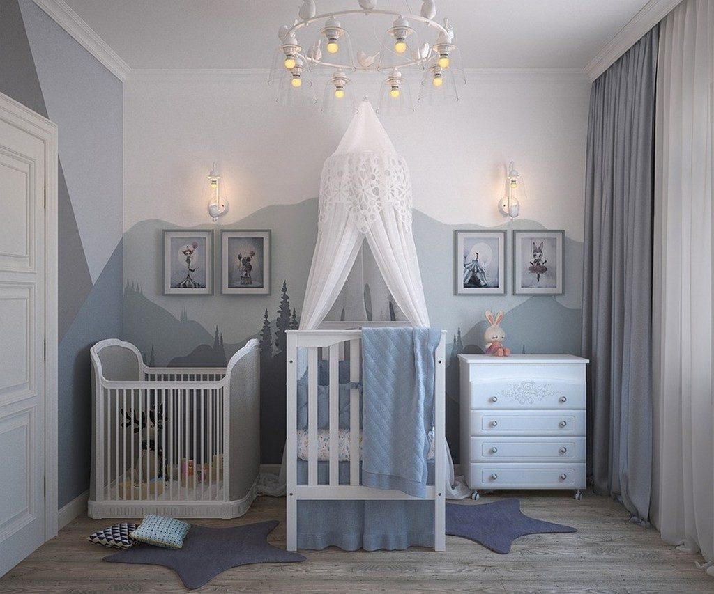 Что купить к рождению малыша? Изображение детской комнаты