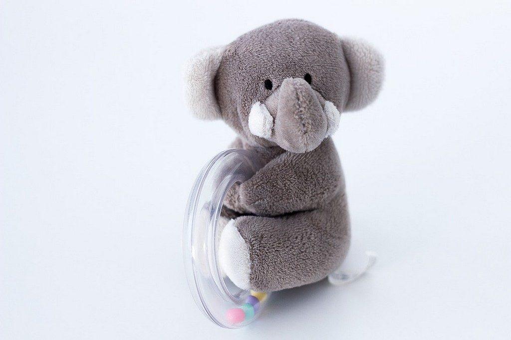 погремушка-слоненок