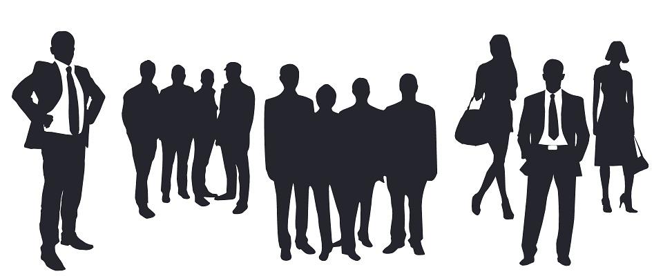 изображение людей в различных позах