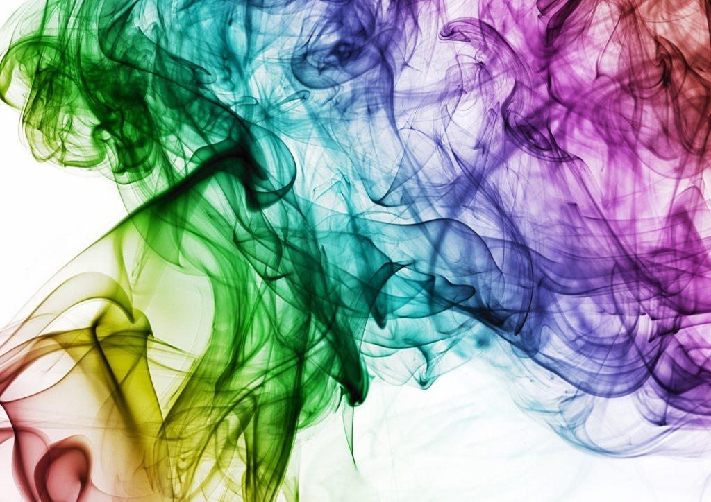 дымка в разных цветах