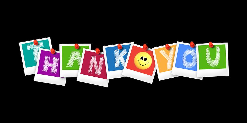 вежливый ребенок спасибо на английском языке разноцветными буквами